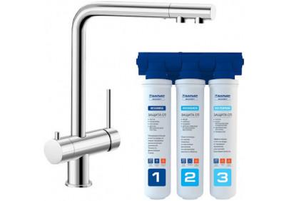 Комплект смеситель Blanco Fontas II UltraResist + BWT Барьер Expert Standart