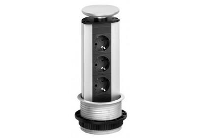 EVOline® Port Standart 3 розетки c кнопкой отключения питания