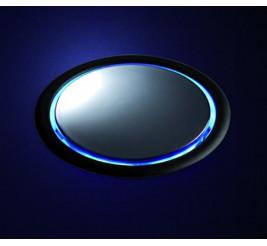 Нержавеющая сталь (+ подсветка крышки синими светодиодами, клавиша отключения питания в розетках), Артикул: 931.00.317 +5 490 ₽