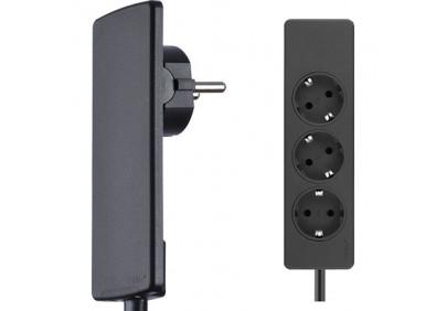 EVOline® Plug с кабелем и тройной розеткой