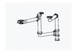 Соединительный элемент Franke для 2 чаш