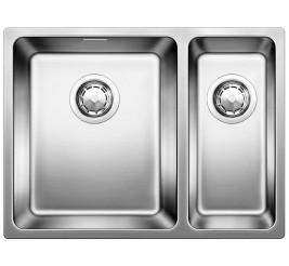 Нержавеющая сталь полированная. Укомплектована отводной арматурой InFino ™, Артикул: 522979 (чаша слева)