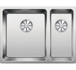 Нержавеющая сталь полированная. отводной арматурой InFino ™. Артикул: 522975 (чаша слева)