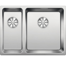 Нержавеющая сталь полированная. отводной арматурой InFino ™ Артикул: 522973 (чаша справа)