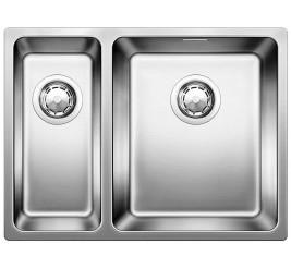 Нержавеющая сталь полированная. Укомплектована клапаном-автоматом, Артикул: 518322 (чаша слева), 518318 (чаша справа) +3 800