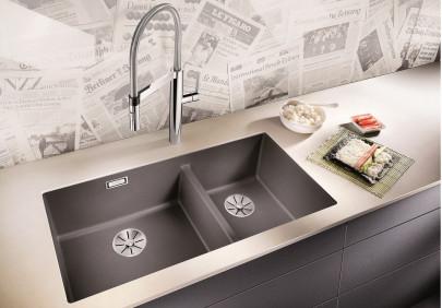 Мойка для кухни Blanco Subline 480/320-U