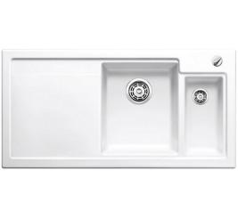 Глянцевый белый, Артикул: 516540 (чаша справа), 516541 (чаша слева)