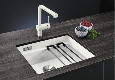 Мойка для кухни Blanco Etagon 500-U Ceramic PuraPlus
