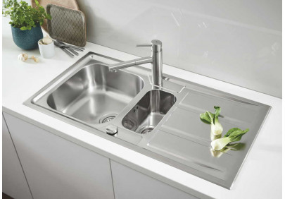 Мойка для кухни Grohe K400+ 31569SD0