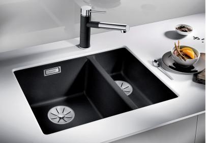Мойка для кухни Blanco Subline 340/160-U
