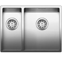Нержавеющая сталь с зеркальной полировкой, Артикул: 521608 (чаша справа), 521607 (чаша слева)