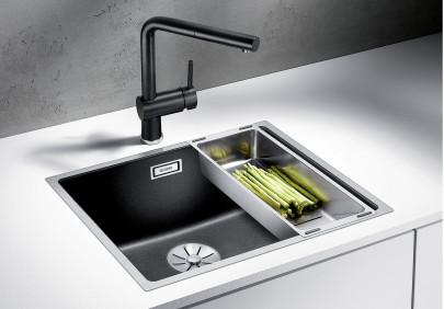 Мойка для кухни Blanco Subline 500-IF SteelFrame