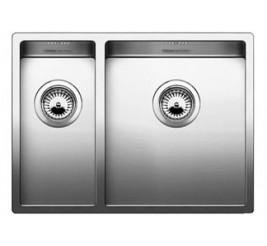 Нержавеющая сталь с зеркальной полировкой, Артикул: 521610 (чаша справа), 521609 (чаша слева)