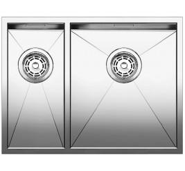 Нержавеющая сталь с зеркальной полировкой, Артикул: 521614 (чаша справа), 521613 (чаша слева)