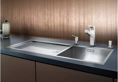 Мойка для кухни Blanco Zerox 400/550-Т-IF/N