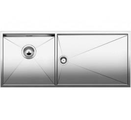 Нержавеющая сталь с зеркальной полировкой, Артикул: 521604 (чаша справа), 521603 (чаша слева)