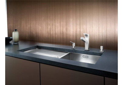 Мойка для кухни Blanco Zerox 400/550-Т-U