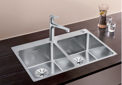 Мойка для кухни Blanco Andano 340/340 IF/A Infino Push Control