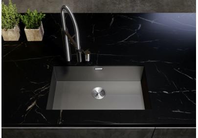 Мойка для кухни Blanco Zerox 700-U Durinox Dark Steel