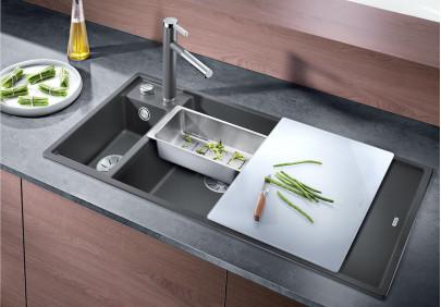 Мойка для кухни Blanco Axia III 6S (чаша слева)