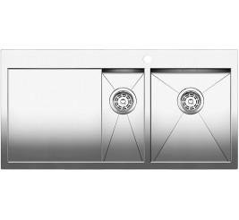 Нержавеющая сталь с зеркальной полировкой, Артикул: 521643 (чаша справа), 521644 (чаша слева)