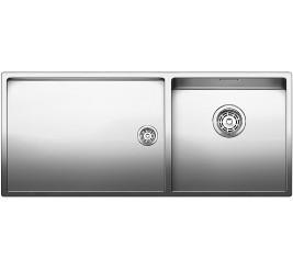 Нержавеющая сталь с зеркальной полировкой, Артикул: 521600 (чаша справа), 521599 (чаша слева)