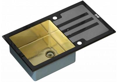 Мойка для кухни Zorg INOX GL-7851 Black-Bronze