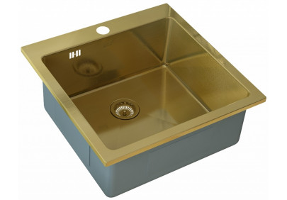 Мойка для кухни Zorg PVD SZR-51 Bronze