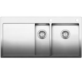 Нержавеющая сталь с зеркальной полировкой, Артикул: 521645 (чаша справа), 521646 (чаша слева)