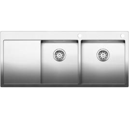 Нержавеющая сталь с зеркальной полировкой, Артикул: 521651 (чаша справа), 521652 (чаша слева)