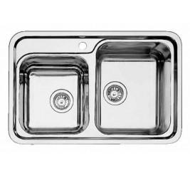 Нержавеющая сталь с зеркальной полировкой, Артикул: 514641 (чаша справа)