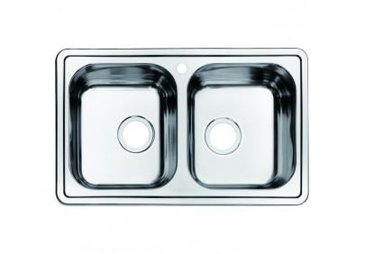Мойка для кухни Iddis Strit STR78P2i77
