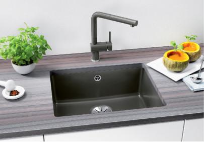 Мойка для кухни Blanco Subline 500-U Ceramic PuraPlus InFino