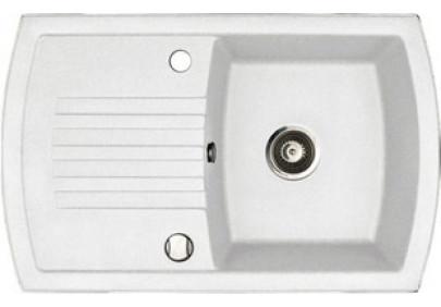 Мойка для кухни Kuppersberg Alba 1B1D White Alabas