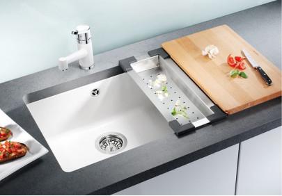 Мойка для кухни Blanco Subline 500-U Ceramic PuraPlus