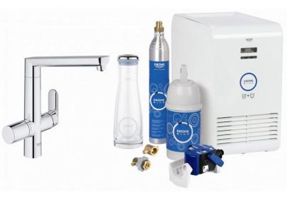 Смеситель для кухни Grohe Blue K7 для охлаждения и газирования