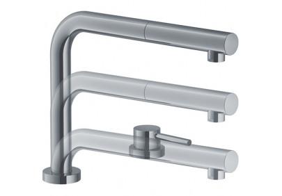 Смеситель для кухни Franke Active Window (нержавеющая сталь)
