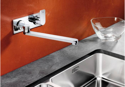 Смеситель для кухни Blanco ELOS-W (хром)