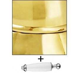 Золото с декоративной ручкой цвет Белый +7 200 ₽