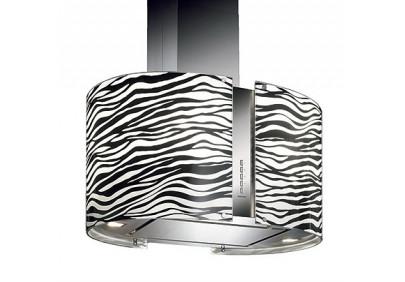 Вытяжка для кухни Falmec Mirabilia Isola 85 Zebra Vetro (800) ECP