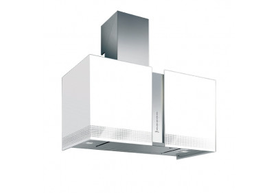 Вытяжка для кухни Falmec Mirabilia Isola 67 Platinum Vetro (800) ECP