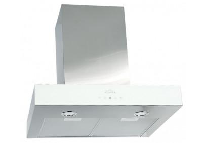 Вытяжка для кухни ELIKOR Агат 60 нержавейка / белое стекло
