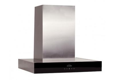 Вытяжка для кухни ELIKOR Агат 60 нержавейка / черное стекло
