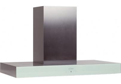 Вытяжка для кухни ELIKOR Агат 90 нержавейка / белое стекло