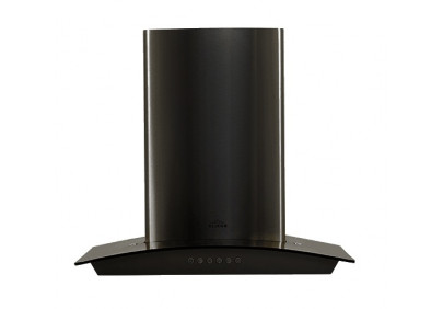 Вытяжка для кухни ELIKOR Аметист S4 60 нержавейка / черное стекло