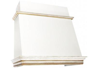 Вытяжка для кухни ELIKOR Баривьера 90 бежевый / дуб белый патина золото