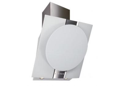 Вытяжка для кухни ELIKOR Графит 60 нержавейка / белое стекло