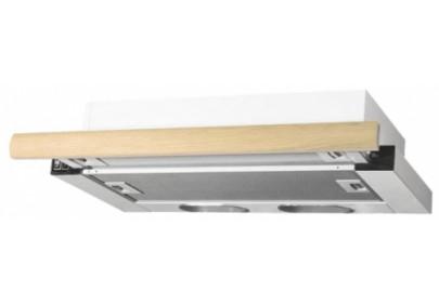 Вытяжка для кухни ELIKOR Интегра 60 белый / бук светло-коричневый