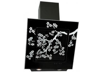 Вытяжка для кухни ELIKOR Оникс ART 60 черный / сакура