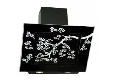 Вытяжка для кухни ELIKOR Оникс ART 90 черный / сакура